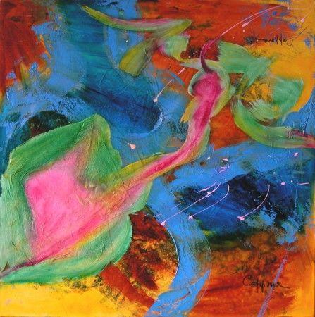 Christiane Cappone Cotée dans Akoun, Quoted in AKOUN, International Painter Guide depuis 2005