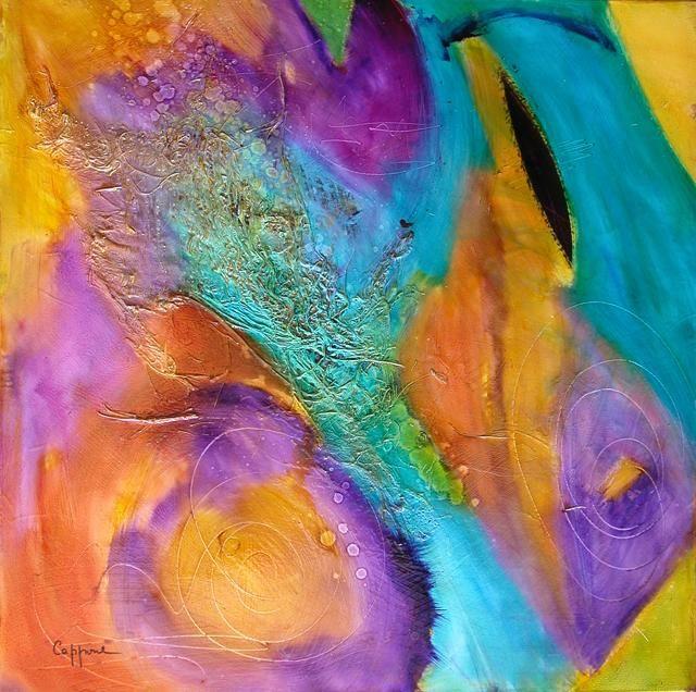 Cagnes sur Mer Lycee Escoffier  cappone peintres contemporain GIN